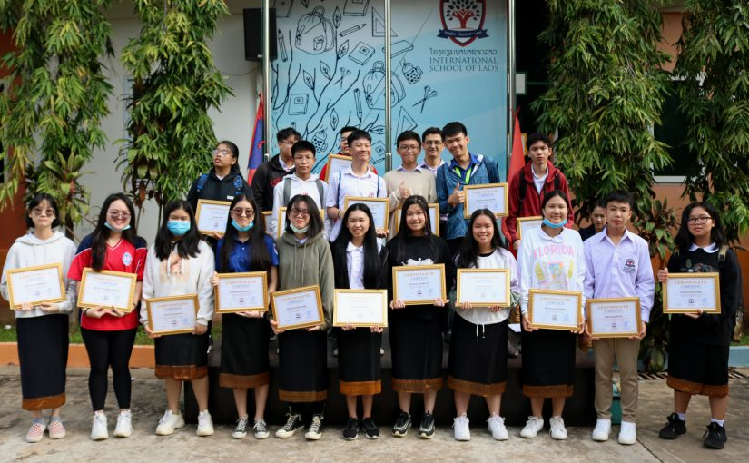 Appreciation Day for Students' Achievement from Previous A.Y.